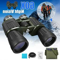 Portable Night Vision Zoom HD Binoculars Hunting Camping Tel