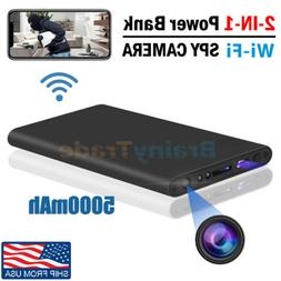 Hidden Camera Power Bank Spy DVR WIFI Recorder Real-time Vie