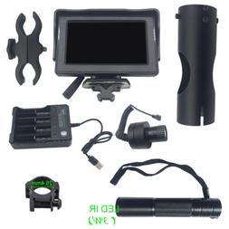 Pro Night Vision Screen Monitor Optics Tactical Infrared Las