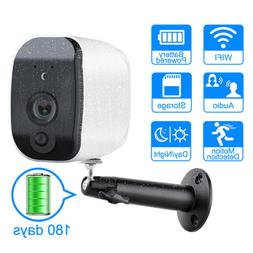 Pro Smart Home Add-on HD Security Camera Wire-Free night Vis