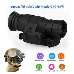 Professional 2x30 Infrared Digital Night Vision Monocular Ri
