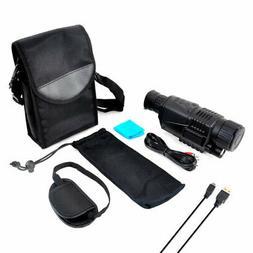 Pyle PSHTCM88 Handheld Night Vision Camera with Record Video