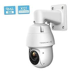 Amcrest 4MP Outdoor PTZ POE + IP Camera Pan Tilt Zoom  Ultra