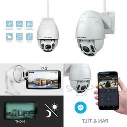 Foscam Outdoor PTZ  HD 1080P WiFi Security Camera - Pan Tilt