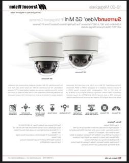 QTY.4 - Arecont Vision 20 Megapixel Day/Night ID/ OD Dome