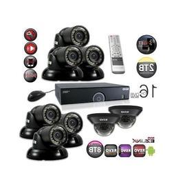 Revo America R165D2GT6G-2T 16 Channel 2TB 960H DVR Surveilla