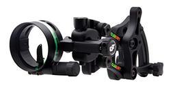 TRUGLO RANGE-ROVER Series Single-Pin Moving Bow Sight, Black
