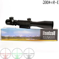 Riflescope Optics 3-9x40 Night Vision Optical Illuminated Si