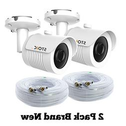 Lot of 2 Samsung Compatible Security Camera Replacement for