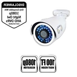 Night Owl Security 1 Pack Analog HD 1080p HD Wired Security