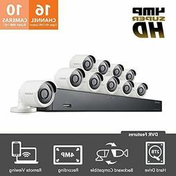 Samsung 16 Channel 4 MP Security System W/2TB Hard Drive & 1