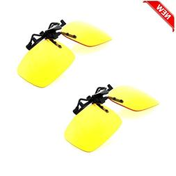 BEST Shooting Glasses Night Vision Driving Yellow UV Safety