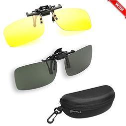 iLumen8 Best Shooting Glasses Night Vision Driving Yellow UV
