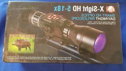 ATN SMART HD OPTICS 5-18x Day/Night Vision Riflescope