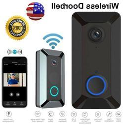 Smart WiFi Doorbell Camera Video Wireless Door Bell CCTV Int