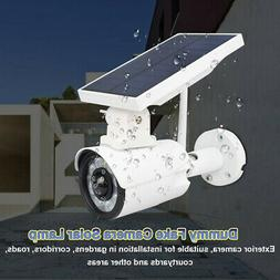 Solar Powered IP Camera Outdoor Rechargeable WiFi Night Visi