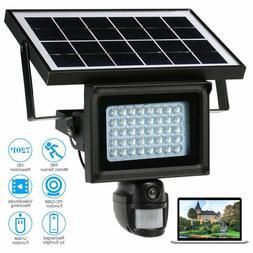 Solar Security IP Camera Wireless Night Vision Motion PIR DV