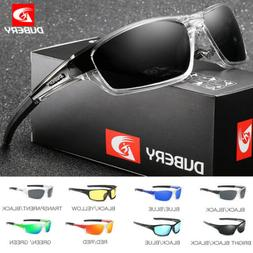 DUBERY Sport Polarized Sunglasses Men Outdoor Riding Fishing