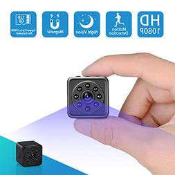 Spy Hidden Camera-SOOSPY 1080P Portable Mini Security Camera