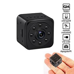Spy Hidden Camera Mini Security Camera HD 1080P Portable 140