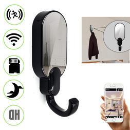 Spy WIFI Night Vision Hidden Camera Mini Cam HD Clothes Hook