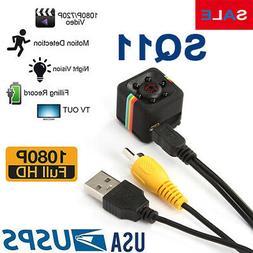 SQ11 mini COP CAM Security Camera HD 1080 Motion Detection N
