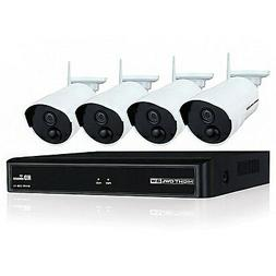 Night Owl Camera System 4 Channel 1080p Wireless Smart Secur
