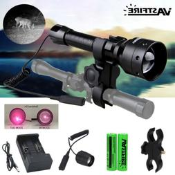 T50 Zoomable 850nm Infrared Laser Night Vision Hunting Flash
