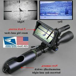 Tactical Night Vision Riflescope Hunting Optic Sight Digital
