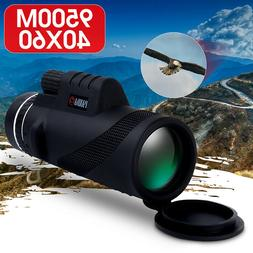 Telescope 40X60 Dual Focus Monocular HD Optics Zoom Day Nigh