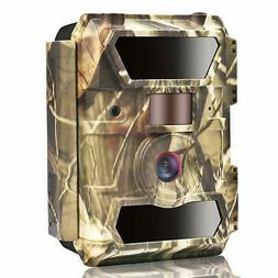 WingHome Trail Camera, 1080P 12M Night Cameras for Wildlife