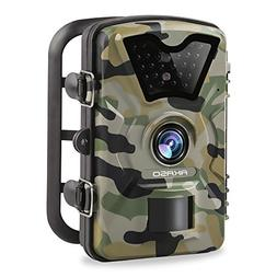 AKASO 12MP Trail Camera Night Vision 1080P Hunting Camera 12