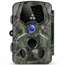 Victure Trail Camera with Night Vision Motion Activated Wate