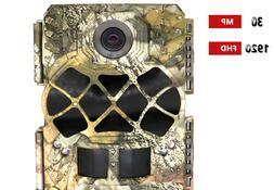 Bestguarder Trail Camera, 30MP 1920P HD Waterproof Wildlife