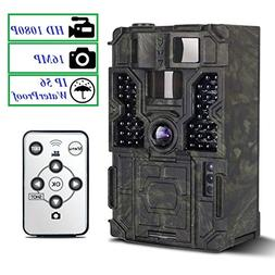 Trail Camera - PetElf 1080P 16MP Hunting Trail Game Camera W