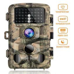 Campark Trail Game Camera FHD 1080P 16MP Hunting Wildlife Ca
