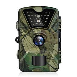 Trail Game Camera, 1080P HD 12MP Infrared Night Vision Hunti