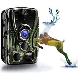 Binrrio Trail Game Camera, 2019 Upgraded 16MP 1080P HD Wildl