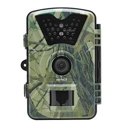 "Kshioe Trail Camera,1080P 12MP HD 2.4"" LCD Gaming Surveillan"