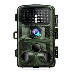 TOGUARD Trail Camera 14MP 1080P Game Cameras with Night Visi