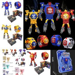 Transformers Toy Figure Robots Electronic Deformation Watch