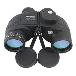 Aomekie Marine Military Binoculars for Adults Kids 7x50 Bino