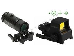Sightmark Ultra Shot Pro Spec NV QD Green Night Vision & T-3