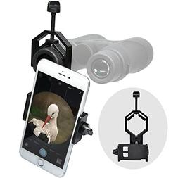 Precision Design Universal Smartphone Adapter for Binoculars