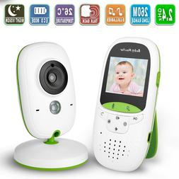 "BIGASUO Upgrade Baby Monitor,Video Baby Monitor 7"" Large LCD"