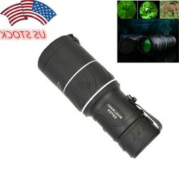 US 40X60 HD Optical Monocular Telescope Day& Low Light Night