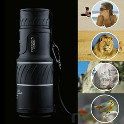 US Day Night Vision 40x60 HD Optical Monocular Hunting Campi