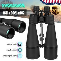 US Night Vision HD 30-260x160 Coated Optic Binoculars Telesc
