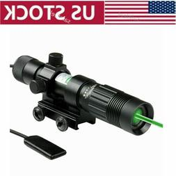 US Upgrade Zoomable Green Laser Designator Illuminator Tacti