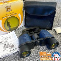USA 60x60 Zoom Day Night Vision Outdoor Travel HD Binoculars